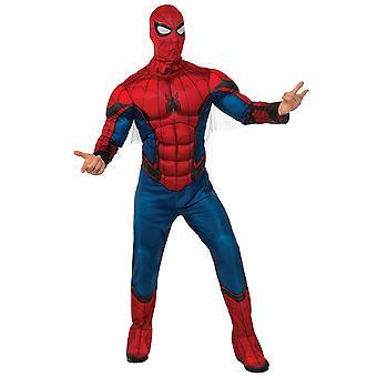 Spider-Man Spiderman Deluxe spier borst Marvel superheld Mens kostuum