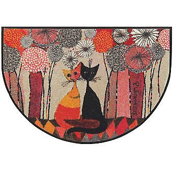 Salonloewe Fußmatte Soffioni couple H 60 x 85 cm Halbrund Sauberlaufmatte