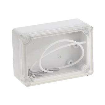 1pc Of  Plastic Waterproof Electronic  Project Box (82.2mmx57.2mmx33.3mm)
