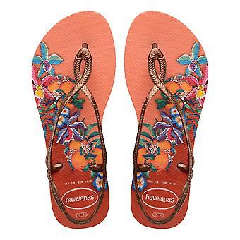 Havaianas Luna Print Sandals - Silk Rose