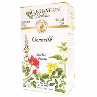 Celebration Herbals Organic Cornsilk Tea, 24 Bags