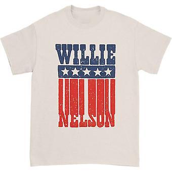 Willie Nelson Americana Nimi T-paita