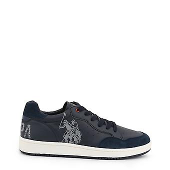 Us polo assn. 4240w9 men's synthetic leather sneakers