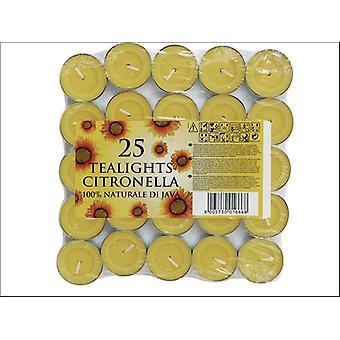 Prices Citronella Tealights x 25 SUN202518