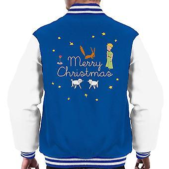 Pikku prinssi joulutähdet kettu lammas miehet'varsity takki
