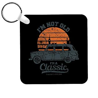 London Taxi Company TX4 Im Not Old Im A Classic Keyring
