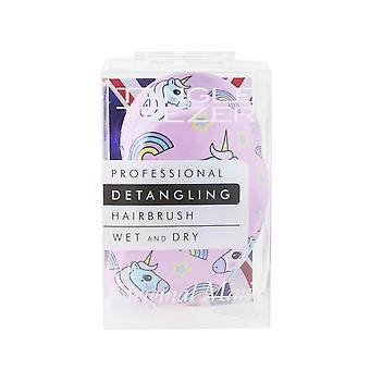 The original mini detangling hair brush # unicorn magic 256486 1pc
