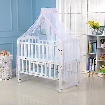 Mosquito Net For Baby, Crib Netting, Round Bed Canopy