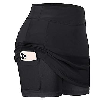 Urheilullinen kevyt hame taskut shortsit sisäjuoksu tennis golf kuluu