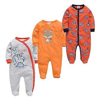 Newborn Baby Pajamas - Infantile Full Sleeve Bathrobe Baby Sleepers