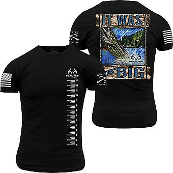 Grunt Style Realtree Fishing - Era questa grande t-shirt - Nero