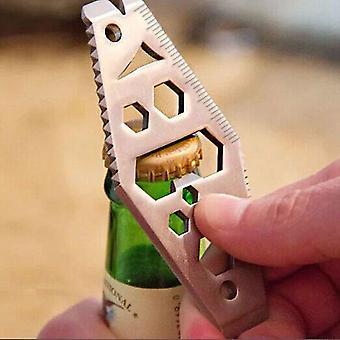 Outil d'ouverture de bouteille de carabiner