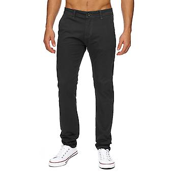 CHINO Style Long Trousers Straight Leg Slim - Regular Fit Chino Trousers Blogger Hot
