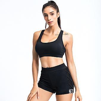 Ladies Slim Yoga Fitness Shorts Sports Suit YJ053