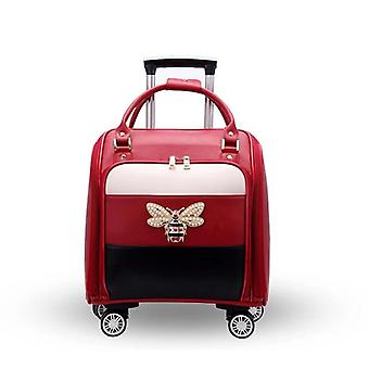 Fashion Brand Light Trolley Luggage Rolling Suitcase