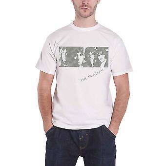 البيتلز ألبوم أبيض يواجه الرجال الرسمية قميص أبيض جديد تي