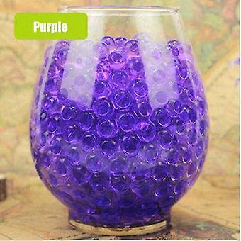 Pearl Shape Soft Crystal Soil Water Beads Grow Magic Jelly Balls Wedding Home