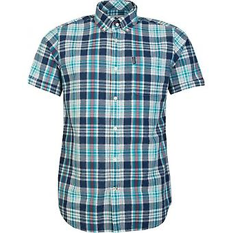 Barbour Madras 9 Short Sleeved Shirt