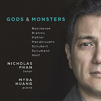 Phan, Nicholas / Huang, Myra - Gods & Monsters: Brahms Schubert Wolf Etc. [CD] USA import