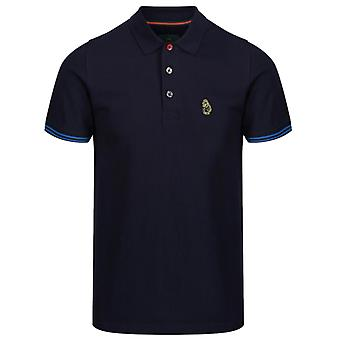 Luke 1977 Nueva Camiseta Mead Polo Navy 24