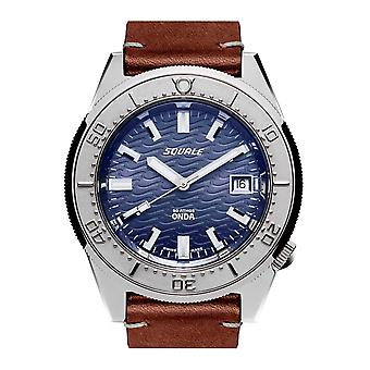 Squale 1521ODG.PS 500 Meter Swiss Automatic Dive Wristwatch Leather