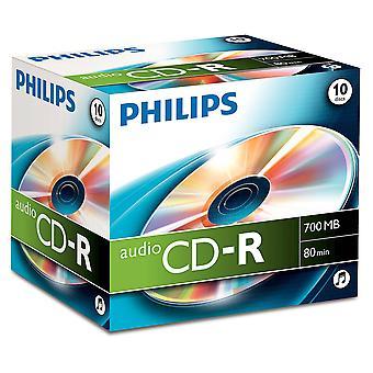 Philips audio cdr-80 10pk jalokivikotelo