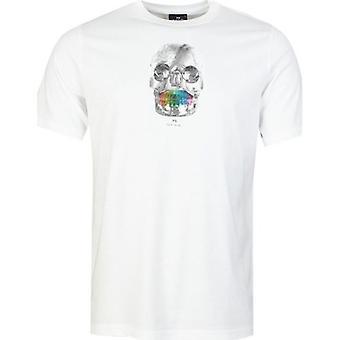 Paul Smith Skull Print Short Sleeved T-Shirt