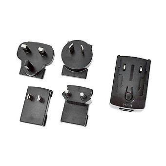 World Wide USB Charger Kit 4 Plugs Without Lead
