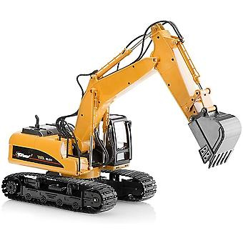 Top Race Toy Metal Diecast Digger/Excavator Construction Tractor Model Farm Truck Vehicle Toys
