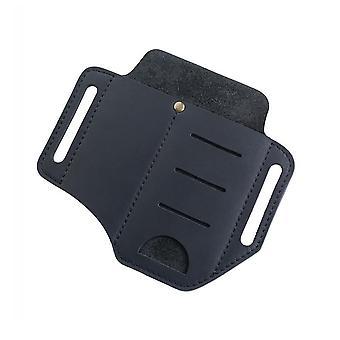 Zewnętrzna taktyczna torba na talię, zestaw skórzanych narzędzi Mini Latarka