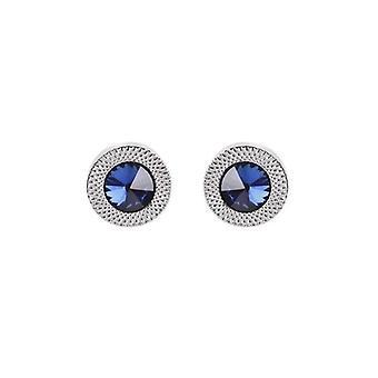 Blå Zircon Taper Crystal Fashion Bröllop Manknyten