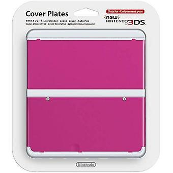 Nintendo New 3DS Cover Plate Pink
