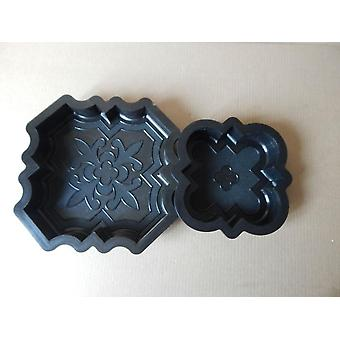 Plastic Molds For Concrete Paving Slabs  Wall Stone Cement Tiles