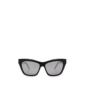 Saint Laurent SL M79 svarta kvinnliga solglasögon