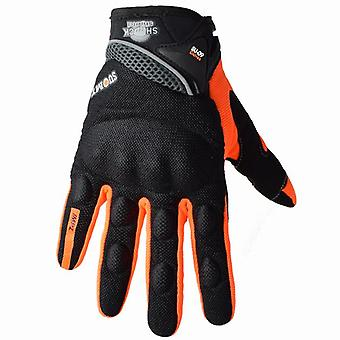 Summer Breathable Motorcycle Gloves, Touch Screen, Guantes Motorbike