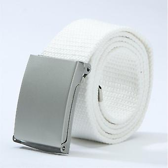 Mens New Fashion Unisex Trousers Canvas Belt