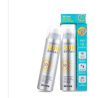 Crystal Sunscreen Spray kleurloze transparante verfrissende zonnebrandcrème te isoleren