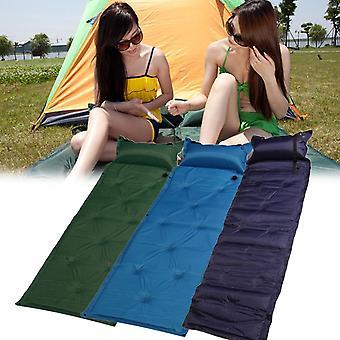 IPRee 183x57x2.5cm Auto Inflatable Air Mattress Camping Moisture Proof Pad Sleeping Mat