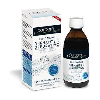 Depurative Draining Syrup Bio 250 ml of cream