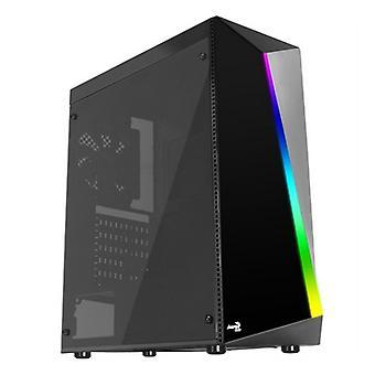 Micro ATX / Mini ITX / ATX Midtower Case Aerocool Shard RGB LED �� 12 cm Black