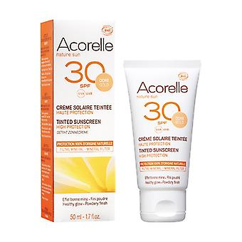 SPF 30 High Protection Gold Tinted Sunscreen 50 ml of cream