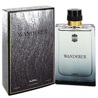 Ajmal Wanderer Eau De Parfum Spray By Ajmal 3.4 oz Eau De Parfum Spray