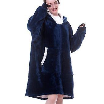 Talvi naisten ' pyjama, paksu ja ylisuuri perhepyjama, pyjama, yöpuvut, mukava hattujen kanssa