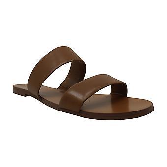 Vince Camuto Womens Rhonda Faux Fur open teen Walking Slide sandalen