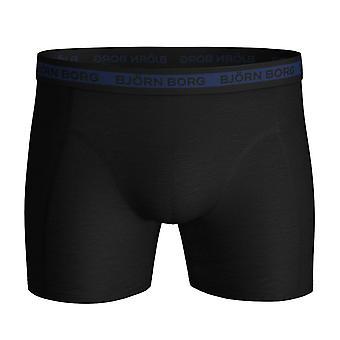 Björn Borg Mens 2021 Sammy Shorts Solid Multi 7 Pack Comfort Boxers