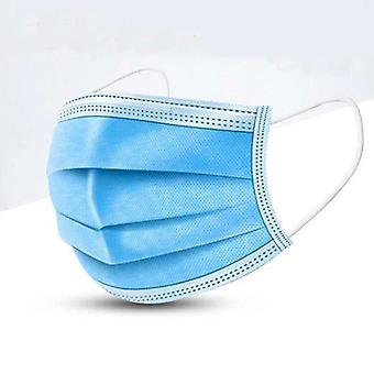 3 Layers Non Woven Anti Dust Mouth Mask Soft Breathable Face Masks