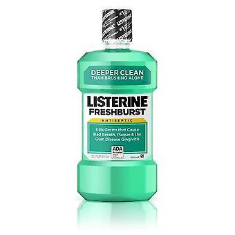 Listerine Antisept, Bucal Elixir Freshburst (Verde) 500 ml