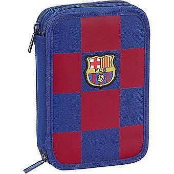 Kaksinkertainen lyijykynäkotelo F.C. Barcelona 19/20 Navy Blue (34 kpl)
