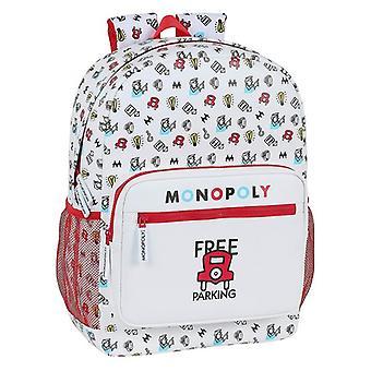 School Bag Monopoly White