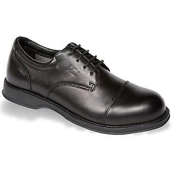 V12 VC101 Envoy Black Executive Oxford Shoe EN20345:2011-S1 Size 9